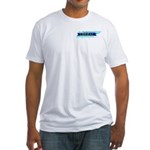 True Blue Tennessee LIBERAL Fitted T-Shirt
