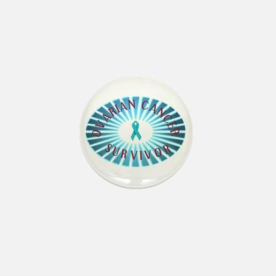 OVARIAN CANCER SURVIVOR Mini Button