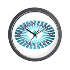 OVARIAN CANCER SURVIVOR Wall Clock