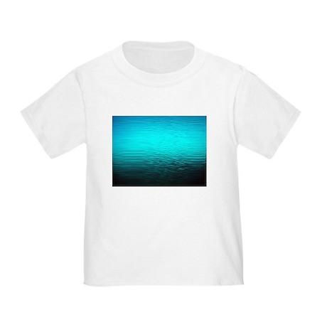 Aqua blue water ombre black toddler t shirt aqua blue for Aqua blue color t shirt