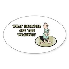 Hospital Humor Gifts & T-shir Oval Decal