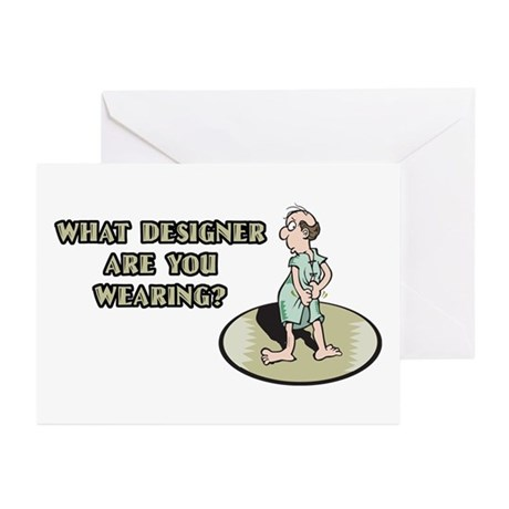 Hospital Humor Gifts & T-shir Greeting Cards (Pack