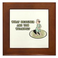 Hospital Humor Gifts & T-shir Framed Tile