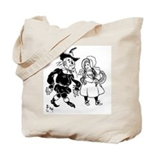 Scarecrow & Dorothy Tote Bag