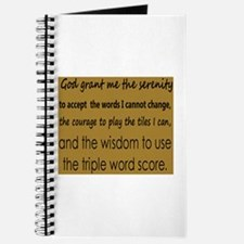 Scrabble Serenity Journal