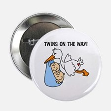 Twin Boys on the Way Button