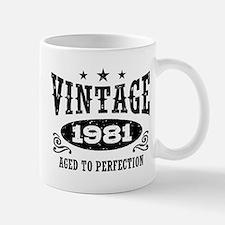 Vintage 1981 Mug