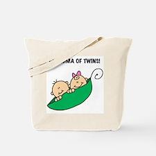 Grandma of Twins Tote Bag