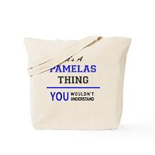 Funny Pamela Tote Bag