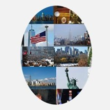 New York Pro Photo Montage-Stunnin Ornament (Oval)
