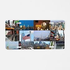 New York Pro Photo Montage- Aluminum License Plate