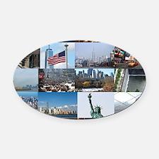 New York Pro Photo Montage-Stunnin Oval Car Magnet
