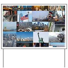 New York Pro Photo Montage-Stunning! Yard Sign