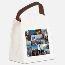 New York Pro Photo Montage-Stunni Canvas Lunch Bag