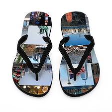 New York Pro Photo Montage-Stunning! Flip Flops