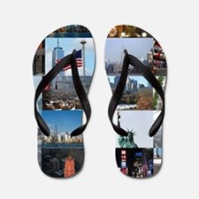 New York Pro Photo Montage-Stunning! Flip Flops