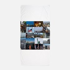 New York Pro Photo Montage-Stunning! Beach Towel