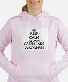 Keep calm we live in Gre Women's Hooded Sweatshirt