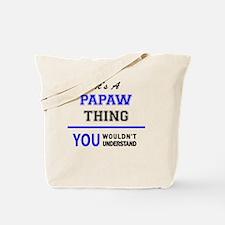Cute Papaw Tote Bag