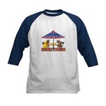 WHEATEN PUPPY CHAT Kids Baseball Jersey