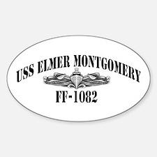 USS ELMER MONTGOMERY Decal