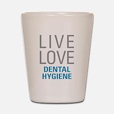 Dental Hygiene Shot Glass