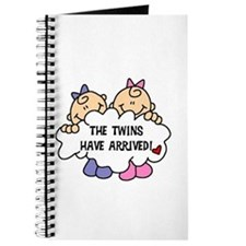 Twin Girls Arrived Journal