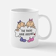 Twin Girls Arrived Mug