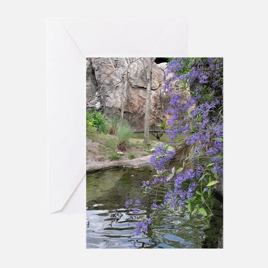 ...Oasis... Note Cards (Pk of 10)