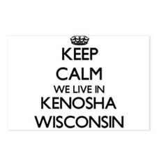 Keep calm we live in Keno Postcards (Package of 8)