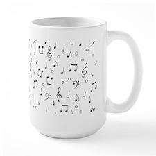 """""""Musical Notes"""" Mug"""
