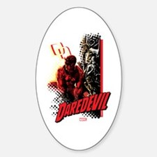 Marvel Knight Daredevil 4 Sticker (Oval)