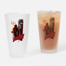 Marvel Knight Daredevil 4 Drinking Glass