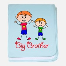 Big Brother Personalized! baby blanket