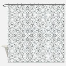 Paloma & White Lace 2 Shower Curtain
