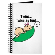 Twins Twice as Fun Journal