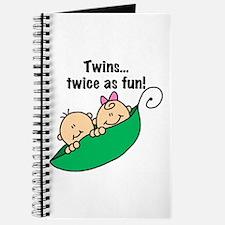 Twins Twice as Fun Journal