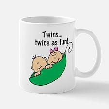 Twins Twice as Fun Mug