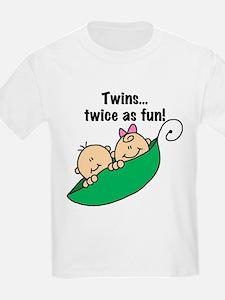 Twins Twice as Fun T-Shirt
