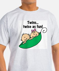 Twins Twice as Fun T-Shirt
