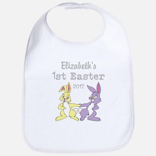 Babys 1st Easter Baby Bib