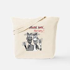I Love Spelling (Toon) Tote Bag