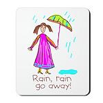 Kid Art Umbrella Mousepad