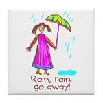 Kid Art Umbrella Tile Coaster