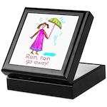 Kid Art Umbrella Keepsake Box