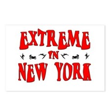 Extreme New York Postcards (Package of 8)