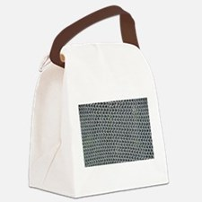 chain mail Canvas Lunch Bag