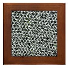 chain mail Framed Tile