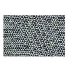 chain mail Postcards (Package of 8)