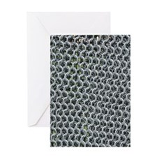 chain mail Greeting Cards